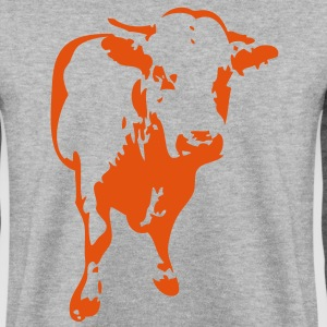 vache cow 31122 Sweat-shirts - Sweat-shirt Homme