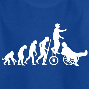 Evolution Theory hals und beinbruch  (circus clown) Kids' Shirts - Kids' T-Shirt