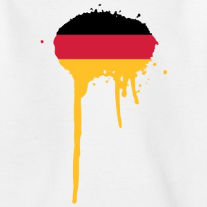 Deutschland Fahne Farbe Kinder T-Shirts - Teenager T-Shirt