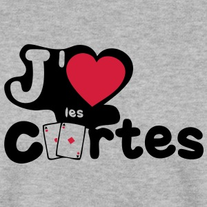 aime love carte paire as poker Sweat-shirts - Sweat-shirt Homme