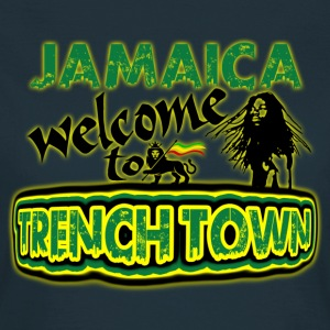 jamaica welcome to trench town Tee shirts - T-shirt Femme
