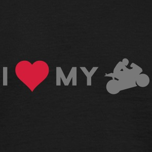 I love my bike T-Shirts - Männer T-Shirt