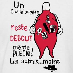 reste debout plein alcool guadeloupeen Tee shirts - T-shirt baseball manches courtes Homme