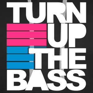 Nero Nero Turn Up The Bass T-shirt Felpe - Felpa con cappuccio premium da uomo