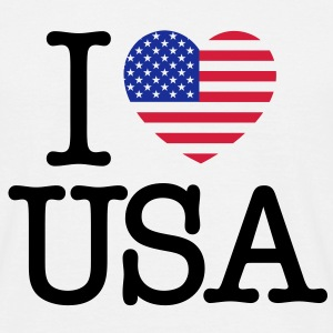 I love USA - T-shirt Homme