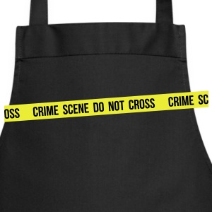 Crime scene do not cross - Tablier de cuisine