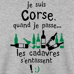 corse cadavre entasse bouteille alcool Sweat-shirts - Sweat-shirt Homme