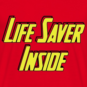 Life Saver Inside Tee shirts - T-shirt Homme