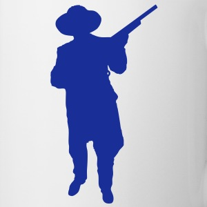 Man and Gun 2 (Vector) - Tasse