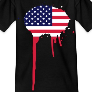 United Splash of America - vlag Kinder shirts - Teenager T-shirt