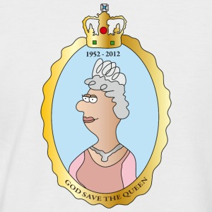 Queen Elizabeth II Tee shirts - T-shirt baseball manches courtes Homme