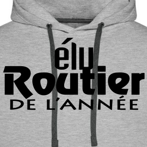 Routier de l'annee (2c,1c) Sweat-shirts - Sweat-shirt à capuche Premium pour hommes