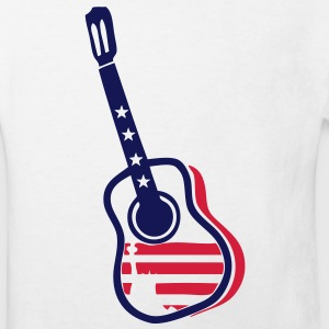 guitare acoustique americaine1 flag Tee shirts Enfants - T-shirt Bio Enfant