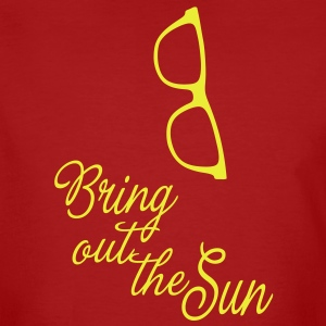 Bring out the Sun (glasses), it's spring summer! T-shirts - Ekologisk T-shirt herr