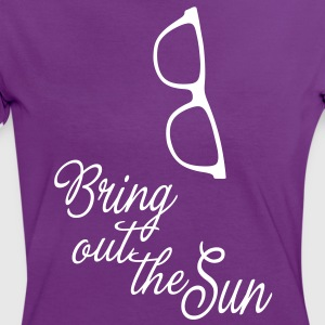 Bring out the Sun glasses, it's spring summer! T-Shirts - Women's Ringer T-Shirt