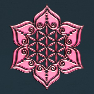 Flower of life, Lotus - Flower, pink, Symbol of pe - Women's T-Shirt