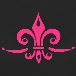 Fleur de Lis - Lily Flower, Trinity Symbol - Charity, Hope and Faith, c, 1 T-Shirts - Women's Organic T-shirt