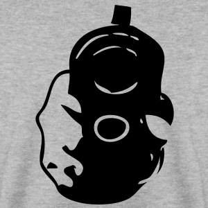 flingue arme pistolet main2 Sweat-shirts - Sweat-shirt Homme