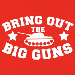 bring out the big guns artillery army tank Hoodies - Kids' Premium Hoodie