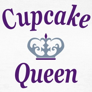 cupcake queen frauen shirt - Frauen T-Shirt