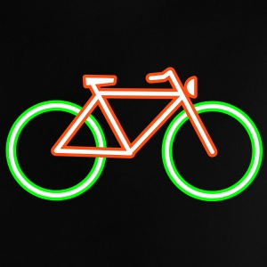 A bicycle made ​​of neon tubes Baby Shirts  - Baby T-Shirt