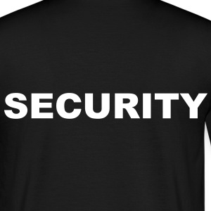 SECURTIY SHIRT - Men's T-Shirt