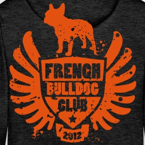 French Bulldog Club 2012 Sweat-shirts - Sweat-shirt à capuche Premium pour hommes