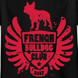 French Bulldog Club 2012 Børne T-shirts - Teenager-T-shirt