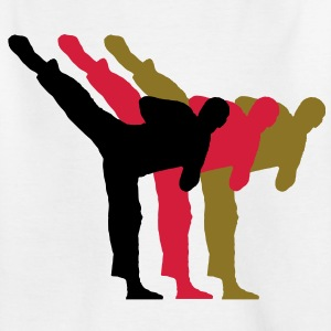 Kickboxing1 Kinder T-Shirts - Teenager T-Shirt