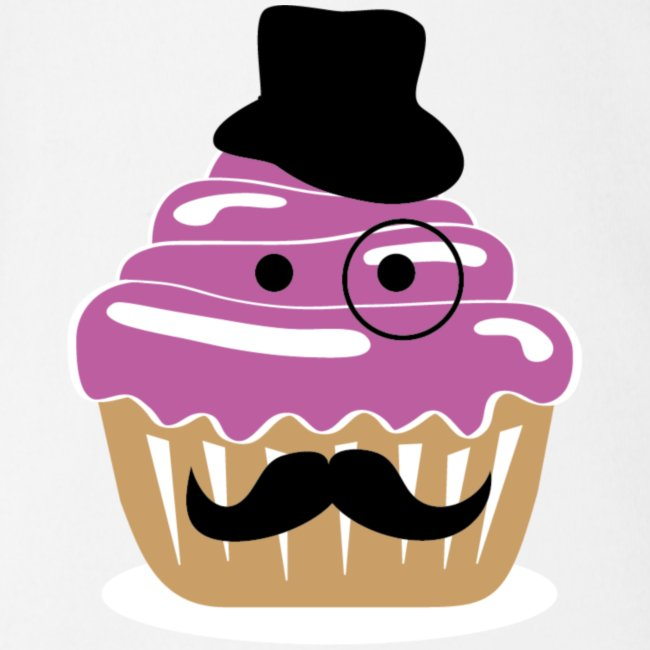 Moustache Cupcake