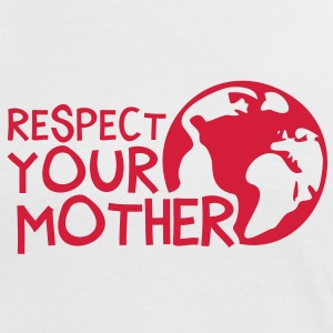 RESPECT YOUR MOTHER!, c, T-Shirts - Women's Ringer T-Shirt