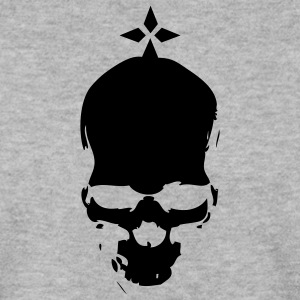 tete mort dead skull hermine crane Sweat-shirts - Sweat-shirt Homme