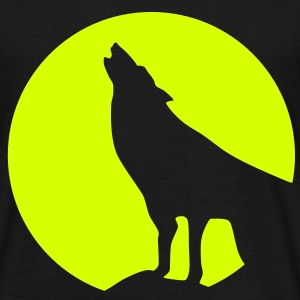 Wolve & Moonlight, Wolf, Wolves - Men's T-Shirt