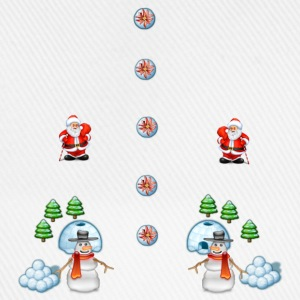 christmas snowmans Scene Father Christmas - Baseball Cap