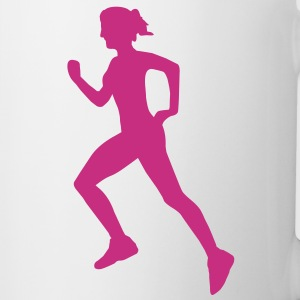 Cross country female Mug - Tasse