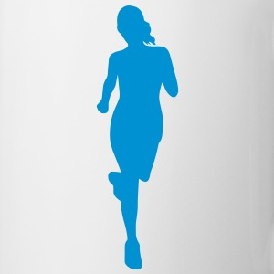 Cross country female Mug - Mug
