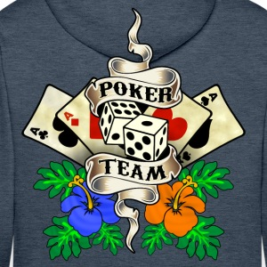 poker team design 1 Sweat-shirts - Sweat-shirt à capuche Premium pour hommes