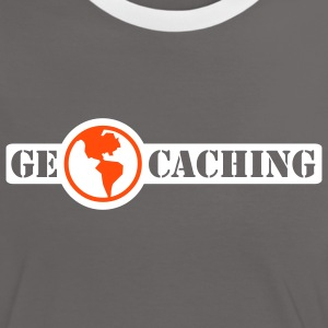 Geocaching - 2colors - 2011 Tee shirts - T-shirt contraste Femme