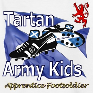 Scotland Tartan Army Football Kids_short - Kids' T-Shirt