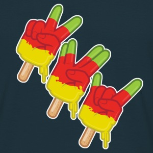 3_fingers T-shirts - Mannen T-shirt