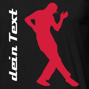 dans, just dance - Mannen T-shirt