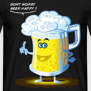 Don't worry beer happy ! - Männer T-Shirt