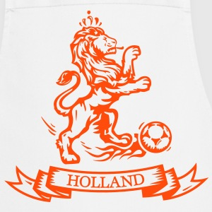 Vintage Dutch Football lion Holland jersey  Aprons - Cooking Apron