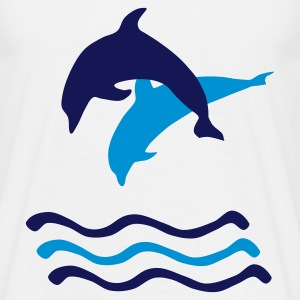 Dolphine T Shirt - Men's T-Shirt