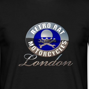 Retro Rat Chrome blue - Men's T-Shirt