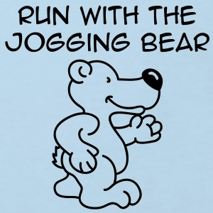 Jogging Bear Barneskjorter - Økologisk T-skjorte for barn