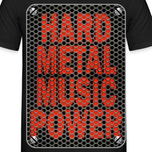 hard metal music 2 Tee shirts - T-shirt Homme