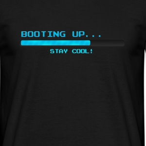 Booting up... - Männer T-Shirt