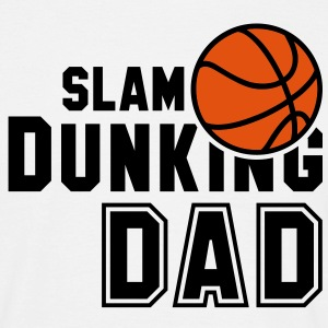 SLAM DUNKING DAD 2C Basketball  T-Shirt BO - Herre-T-shirt