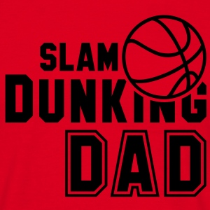 SLAM DUNKING DAD Basketball T-Shirt BR - Men's T-Shirt